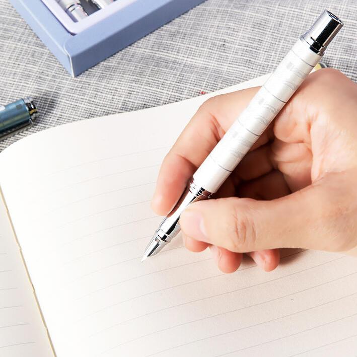 得力 S275学生金属钢笔EF暗尖(混)