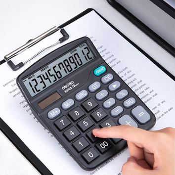 得力837ES桌上型計算器